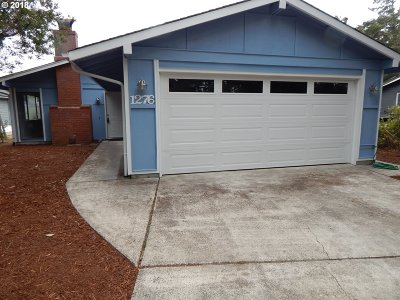 Florence Single Family Home For Sale: 1276 8th St
