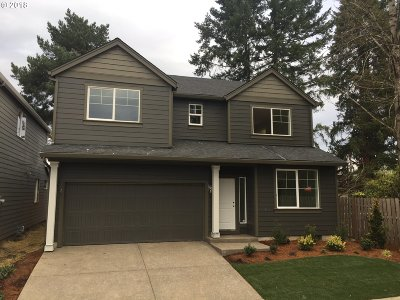 Beaverton, Aloha Single Family Home For Sale: 5257 SW Freya Ter