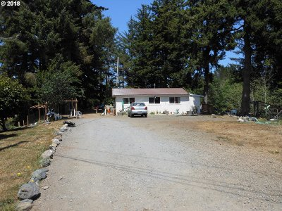 Coos Bay Single Family Home For Sale: 91355 Lowell Ln