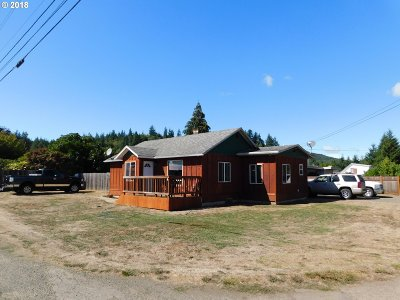 Coquille OR Single Family Home For Sale: $178,500