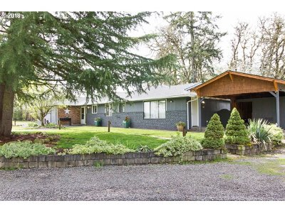 Wilsonville, Canby, Aurora Single Family Home For Sale: 26940 S Bolland Rd