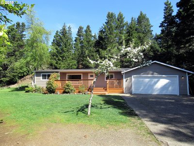 Florence Single Family Home For Sale: 5143 Heceta Beach Rd