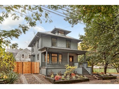 Portland Single Family Home For Sale: 503 SE 18th Ave