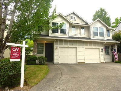Beaverton Condo/Townhouse For Sale: 3967 SW 182nd Pl