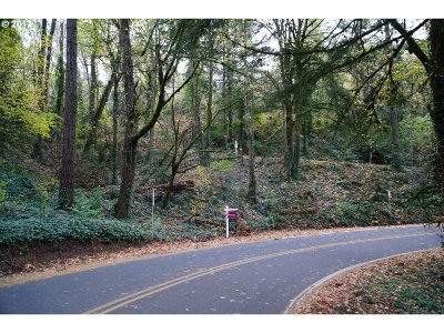 Portland Residential Lots & Land For Sale: SW McDonnell Ter