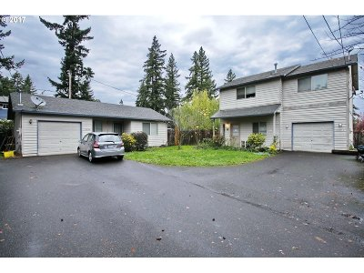 Portland OR Multi Family Home For Sale: $355,000