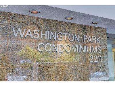 Portland Condo/Townhouse For Sale: 2211 SW Park Pl #802