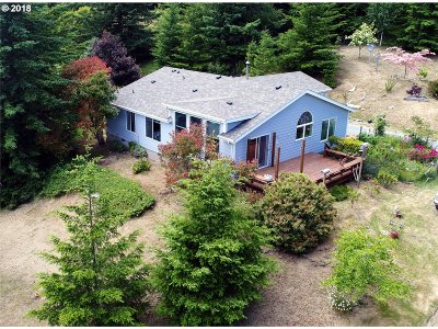 Bandon Single Family Home For Sale: 89551 Two Mile Rd