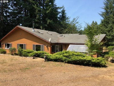 Florence Single Family Home For Sale: 89373 Dahlin Rd