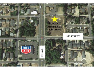 Lane County Residential Lots & Land For Sale: 3500 Hwy 101