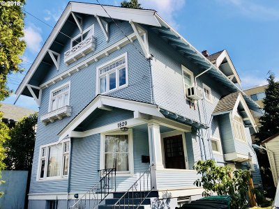 Portland Single Family Home For Sale: 1820 NE 13th Ave