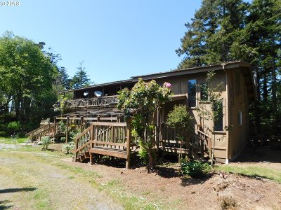 Bandon Single Family Home For Sale: 49280 Hwy 101