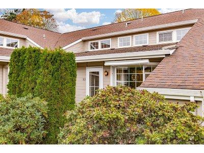 Beaverton Condo/Townhouse For Sale: 13775 SW Scholls Ferry Rd #313