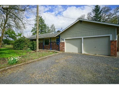 Aumsville Single Family Home Sold: 8254 West Stayton Rd SE