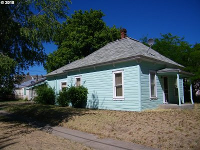 Goldendale WA Single Family Home Sold: $89,500