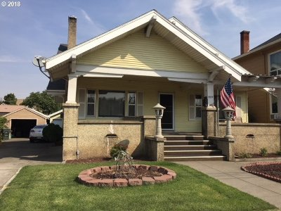 Pendleton Single Family Home For Sale: 927 SE Court Pl