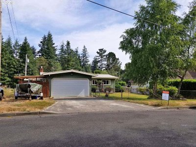 North Bend Single Family Home For Sale: 842 Lombard