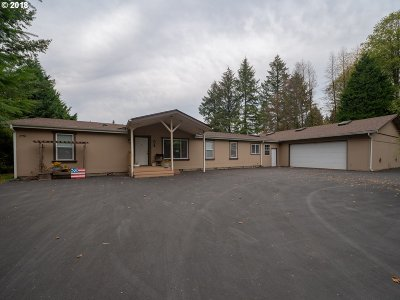Amboy Single Family Home For Sale: 21400 NE Fargher Lake Hwy