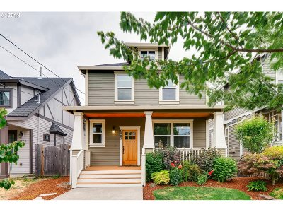 Single Family Home For Sale: 5803 N Bowdoin St