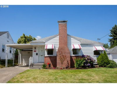 Portland Single Family Home For Sale: 4411 NE 79th Ave