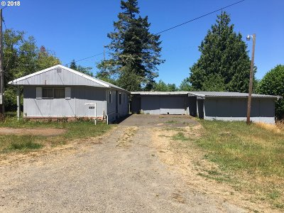 Coos Bay Single Family Home For Sale: 63432 Railroad Rd