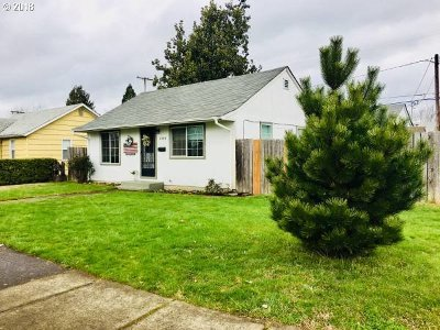 Springfield Single Family Home For Sale: 1480 Parker St