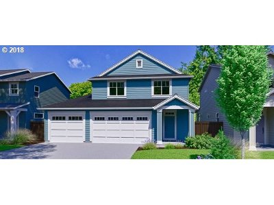 Estacada Single Family Home For Sale: 145 NW Hill (Lot103) Way