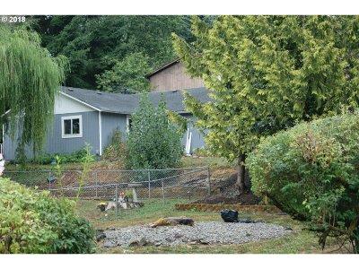 Rainier Single Family Home For Sale: 109 W E St