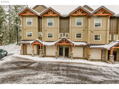 Government Camp Condo/Townhouse For Sale: 87976 E Alpenglow Ln #56