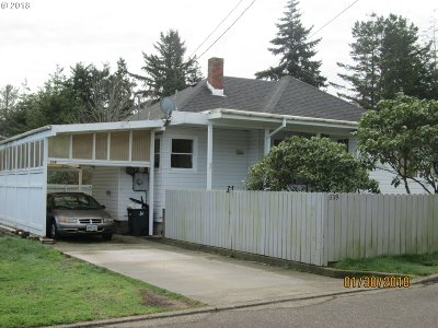 Coos Bay Single Family Home For Sale: 339 N Wall