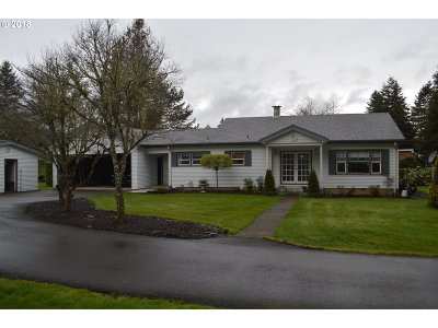 Springfield Single Family Home For Sale: 8275 Thurston Rd