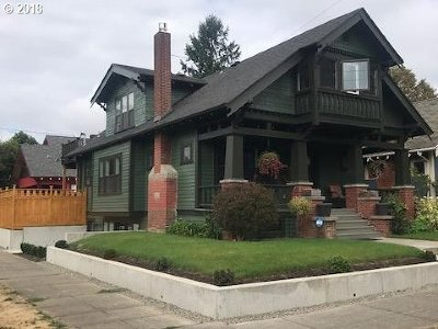 Single Family Home For Sale: 2339 SE 34th Ave
