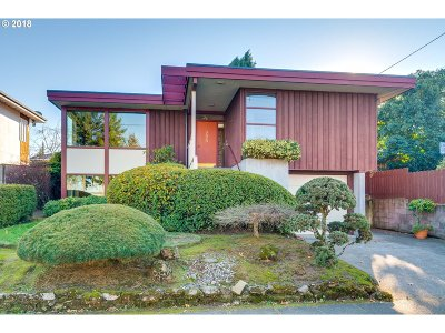 Portland OR Single Family Home For Sale: $595,000