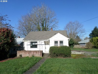 Single Family Home For Sale: 11845 SE 34th Ave