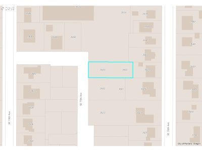 Portland Residential Lots & Land For Sale: 3601 SE 76th Ave #30