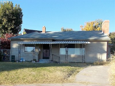 Pendleton Single Family Home For Sale: 660 NW 7th St