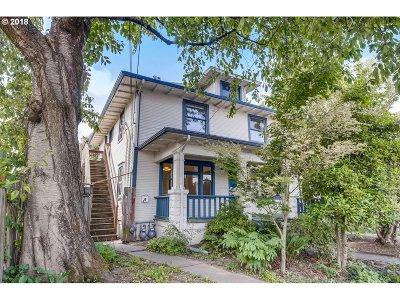 Portland Single Family Home For Sale: 434 NE Morris St