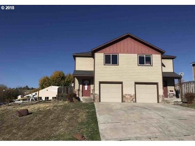 Pendleton Single Family Home For Sale: 1215 SW Nye Ave