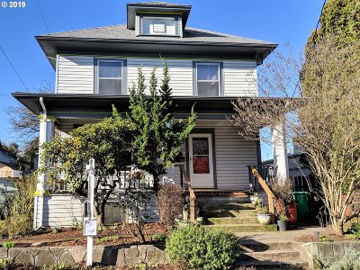 Portland Single Family Home For Sale: 3025 SE 8th Ave