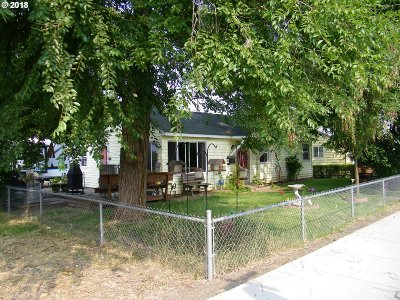 Goldendale WA Single Family Home Pending: $130,000