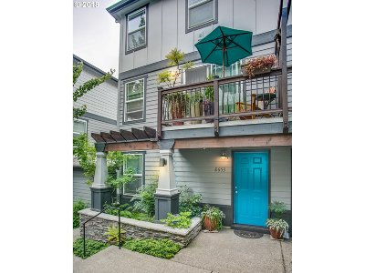 Portland Condo/Townhouse For Sale: 8653 N Crawford St