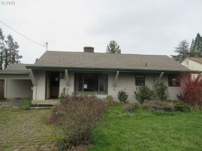 Eugene Single Family Home For Sale: 935 W 18th Ave