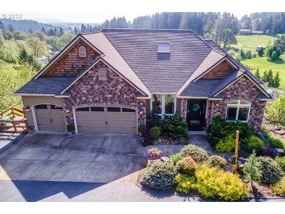 Newberg, Dundee, Mcminnville, Lafayette Single Family Home For Sale: 15300 NW Mountain Meadow Rd