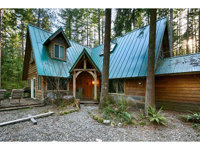 Rhododendron Single Family Home For Sale: 27745 E John Lake Rd