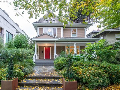 Portland Single Family Home For Sale: 2002 NE 11th Ave