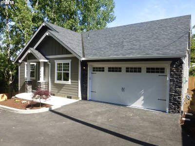 Multnomah County Single Family Home For Sale: 1869 SW Pleasant View Dr