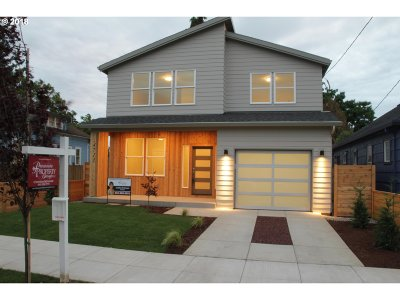 Single Family Home For Sale: 4711 SE 63rd Ave