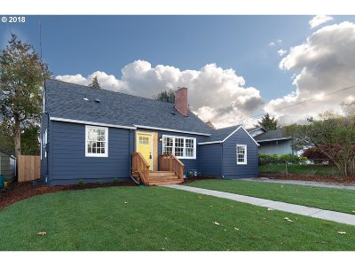 Single Family Home For Sale: 4124 NE 72nd Ave