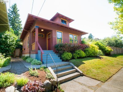 Portland Single Family Home For Sale: 1220 N Simpson St