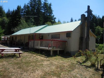 Coos Bay Single Family Home For Sale: 59574 Halfway Rd